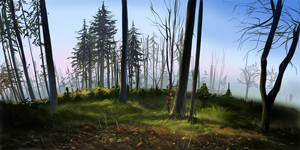 Trees Study by hel999
