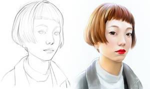 Face study 02