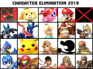 Character Elimination 2019 Part 22 (CLOSED)