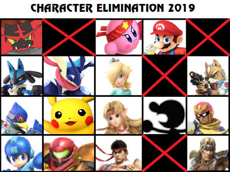 Character Elimination 2019 Part 25 (CLOSED)