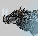 Fierce Frost Dragon