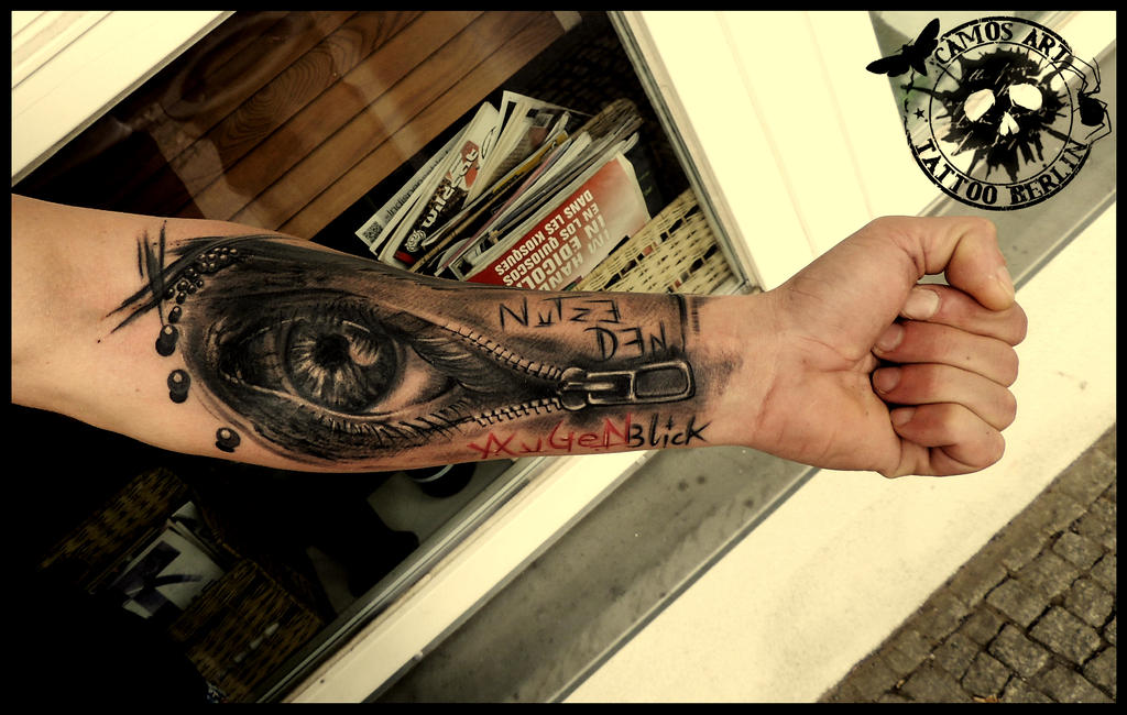Famoso Polka trash eye by CAMOSartTATTOO on DeviantArt WL52