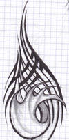 Odd tattoo doodle thing