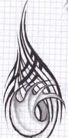 Odd tattoo doodle thing by Ashlo4