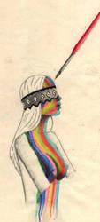 Coloured girl by Tekon69