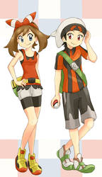 Pokemon Special Omega Ruby Alpha Sapphire by StarRockie