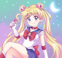 Sailor Moon by StarRockie