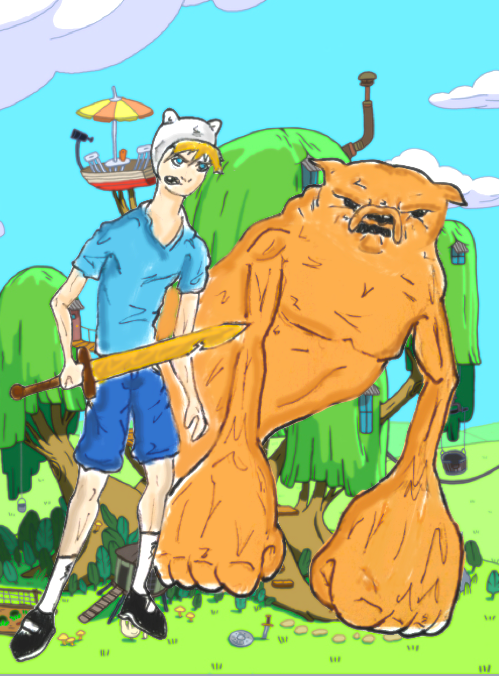 Finn And Jake by ComicGirl18