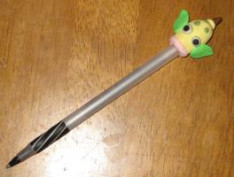 Weepinbell pokemon pen by Vegathebattousai