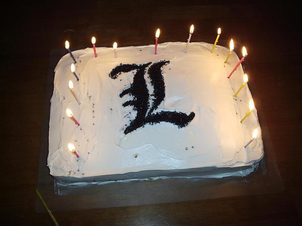Deathnote L cake by Vegathebattousai on DeviantArt
