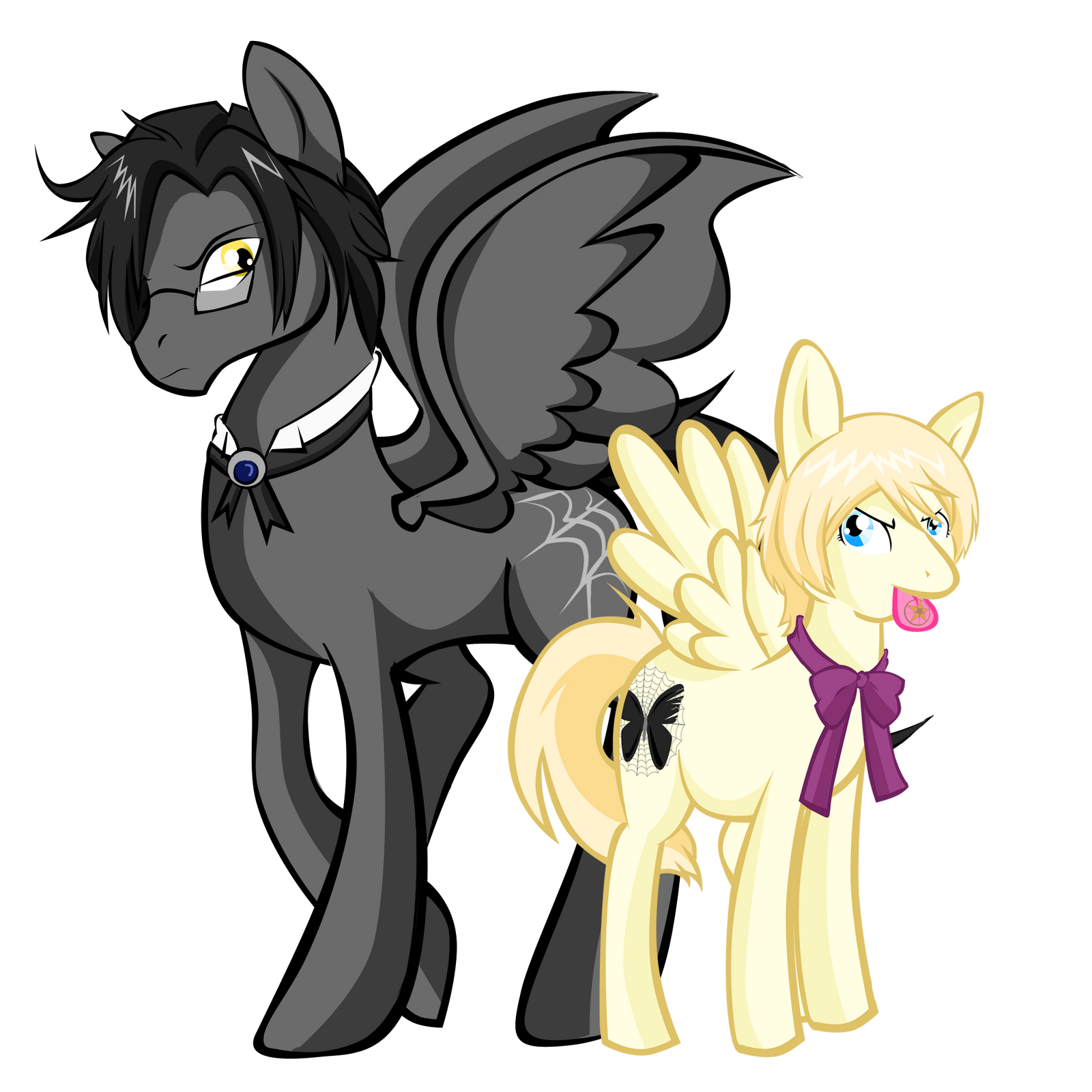 Ponyshitsuji: Claude and Alois by Skittledeedoo on DeviantArt
