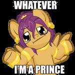 Soma pony don't give a fuck