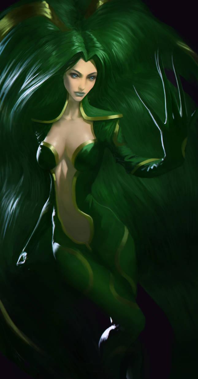 Caroline (Vampire Hunter D) by danielcotter