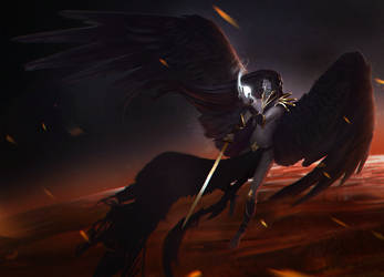 Angel of Death by danielcotter