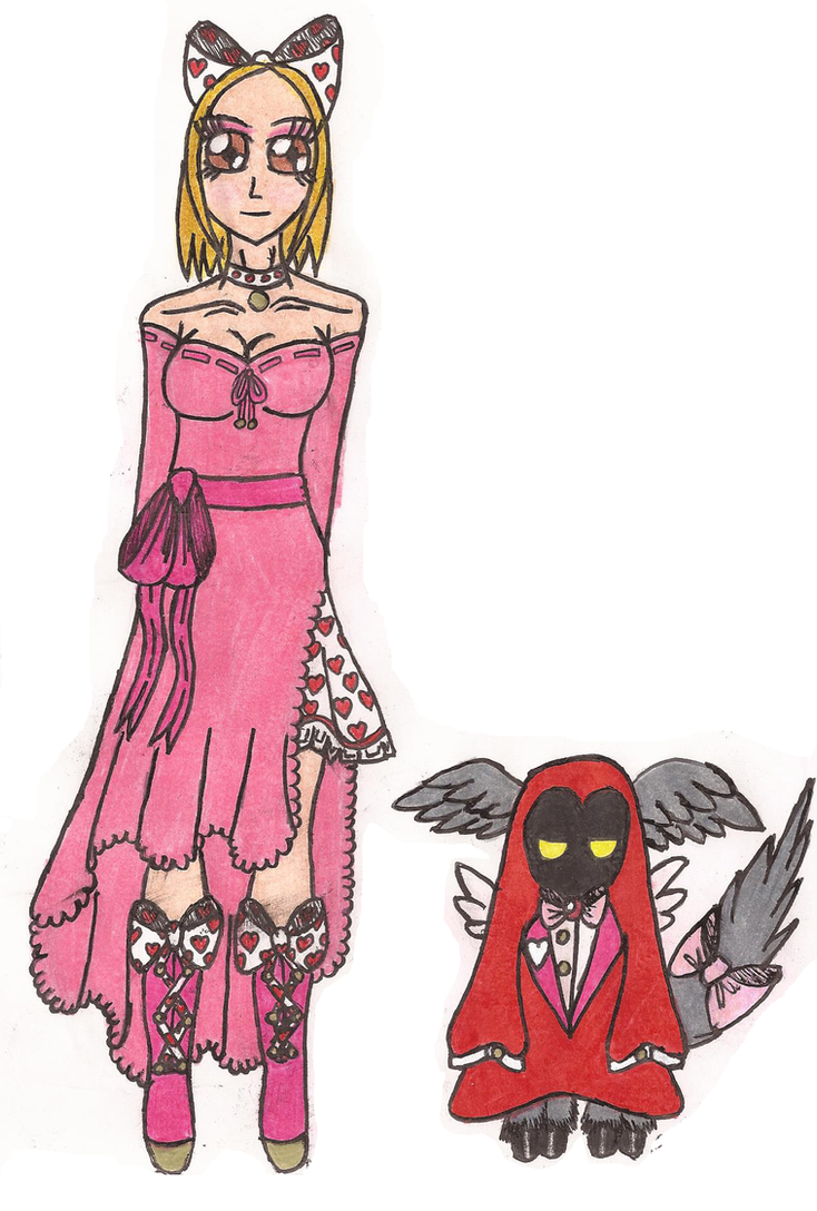 MyM: Cassie's St.Valentine's Gladrags by Greenpolarbear47