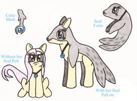 MLP: Seal-Heart the Selkie Pony by Greenpolarbear47
