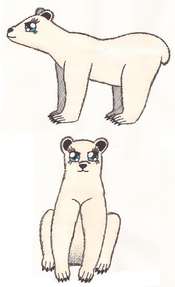 Ursa - New Character Design by Greenpolarbear47
