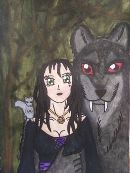 Witch and Her Werewolf