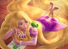 Rapunzel by ShinoriChian