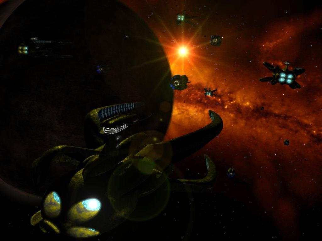 Vorlon Fleet by spellfire