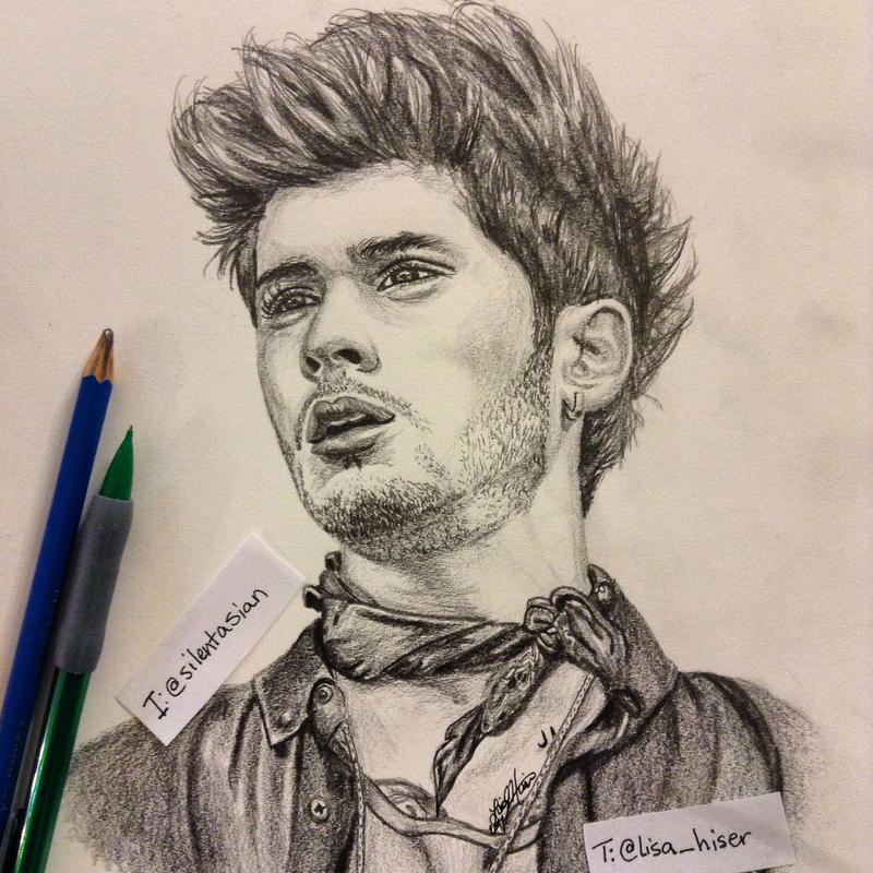 Zayn malik pencil drawing by drummerkid08