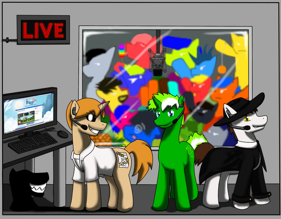 New Livestream Background