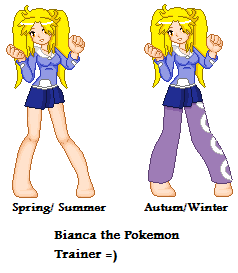 Bianca The Pokemon Trainer by Goldie25