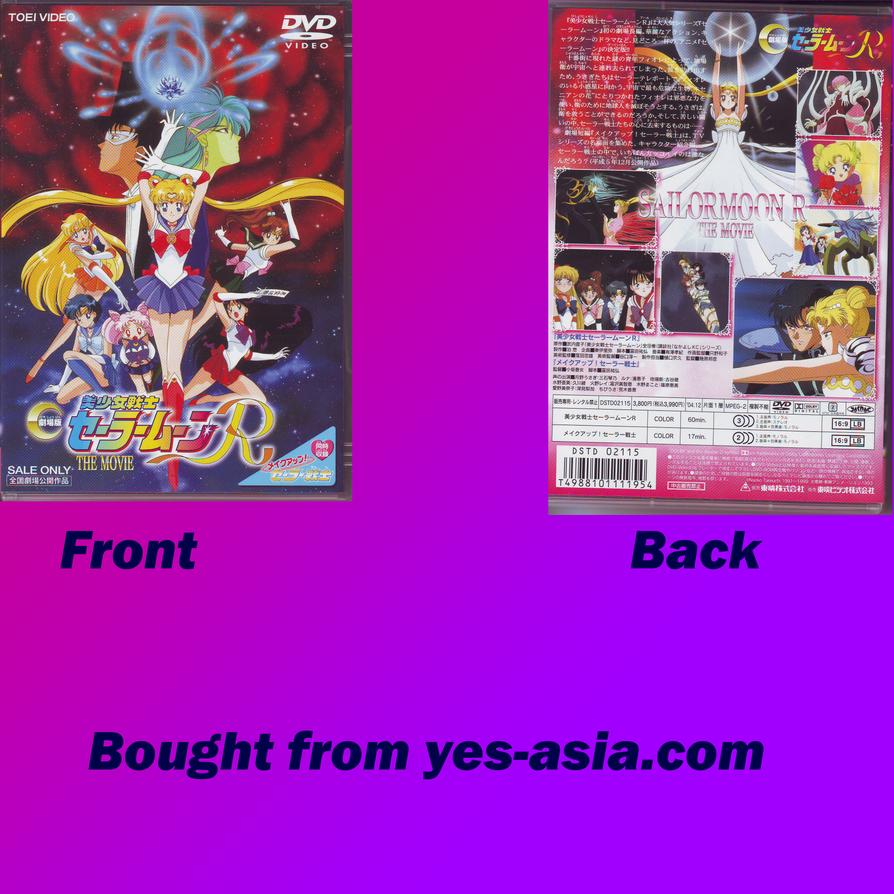 Sailor Moon R Movie R2 DVD By Goldie25 On DeviantArt
