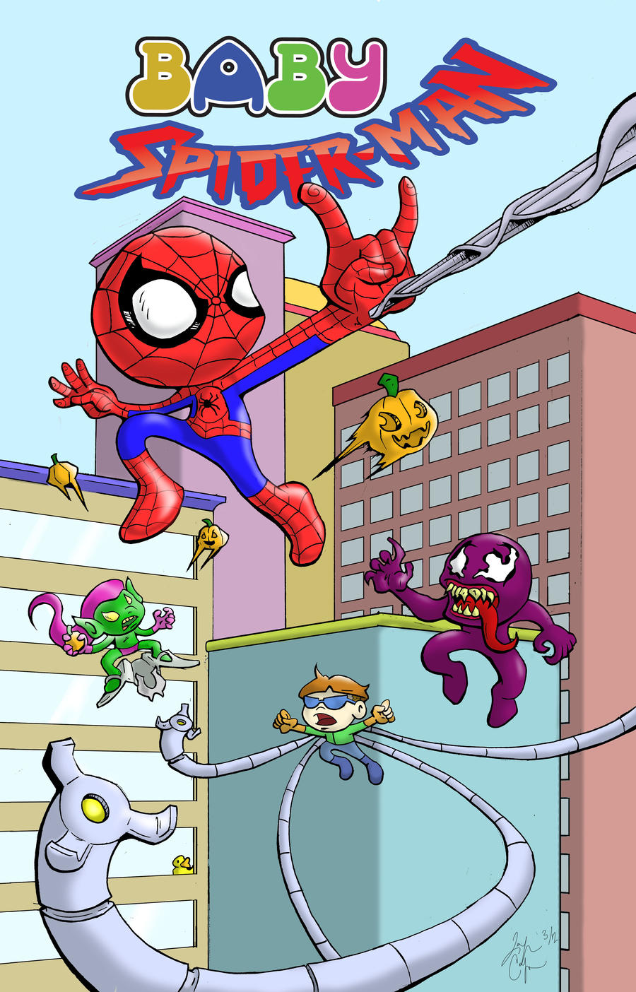 Pictures Of Baby Spiderman Cartoon Rock Cafe
