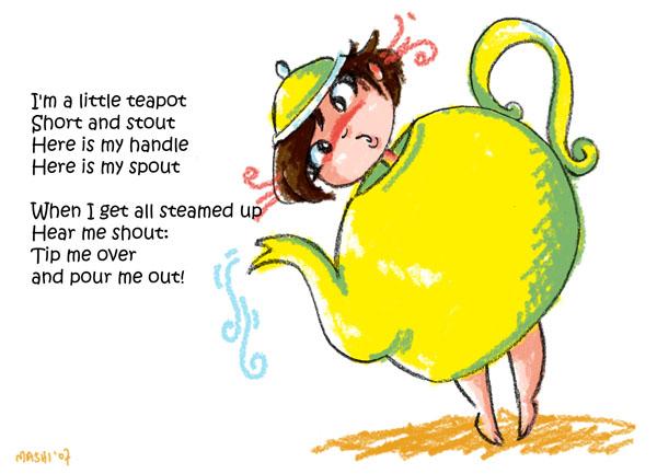 im a little teapot cartoon - photo #46