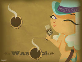 Cowgirl Wallpaper by mashi