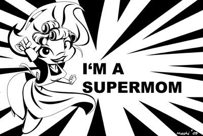 Super Mom by mashi