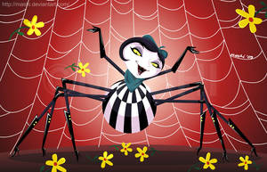 Art Jam: Miss Spider by mashi