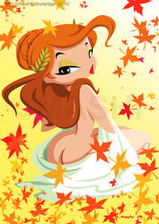 Autumn Girl by mashi