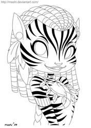 Neytiri - Lines by mashi