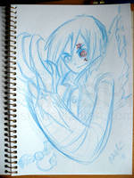 Allen Walker Sketch by mashi