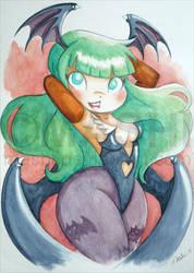 Morrigan Watercolour