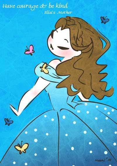 Cinder Ella by mashi