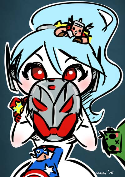 Ultron Girl by mashi