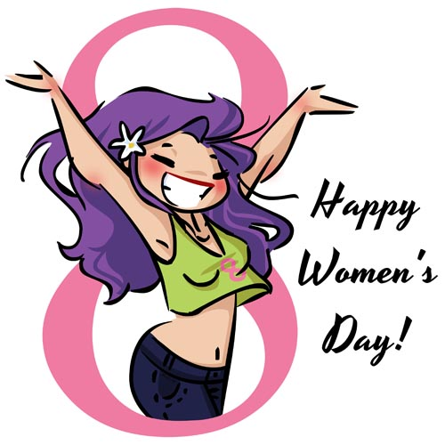 Happy Women's Day by mashi