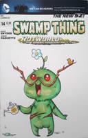 Chibi Swamp Thing