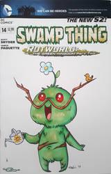 Chibi Swamp Thing by mashi