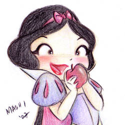 Oh, an apple.. by mashi
