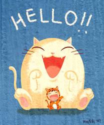 Hello... by mashi