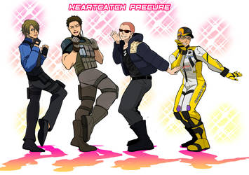 RE6 MEN dance