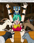 Bulma Tickled and Licked to Death By Moro