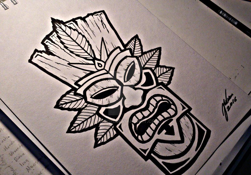 Tiki Mask Design by JW2011 on DeviantArt