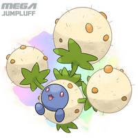 Mega Jumpluff 2.0 by Malamarvellous