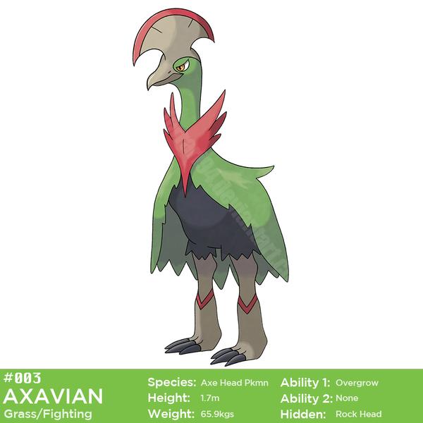 003 Axavian by Malamarvellous