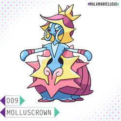 Molluscrown - Final Water Starter